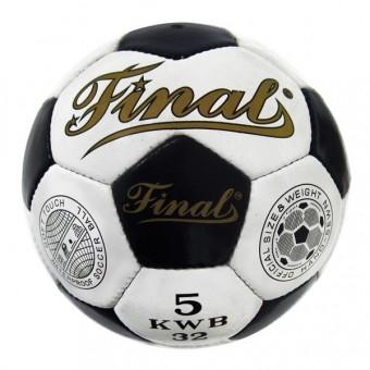 Мяч футбольный Final кожа