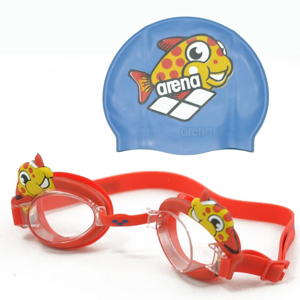 Набор для плавания шапочка + очки Arena Bubble Set (92295-022)