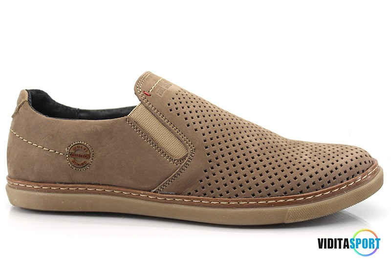 Мужские туфли Multi Shoes Chinos латте перф.