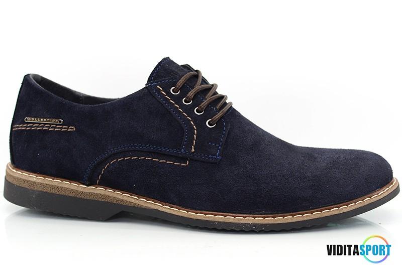 Мужские туфли Multi Shoes Frank син.
