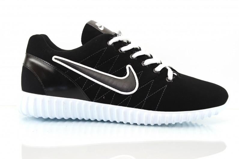 Мужские спортивные туфли Extrem 0507 черн.замш