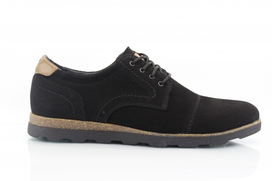 Мужские туфли Multi Shoes METT черн.