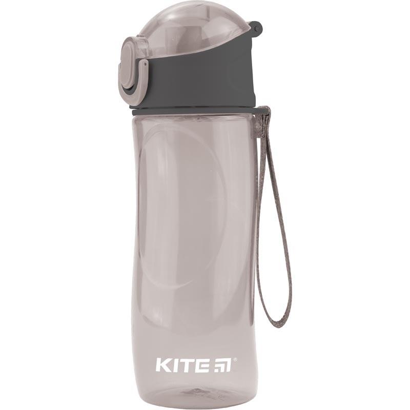 Бутылочка для воды Kite 530 мл, серая (K18-400-03)